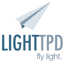 the big logo for lighttpd